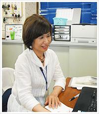 居宅介護支援センター 主任介護支援専門員 榊原 京子