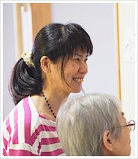 短期入所生活介護 生活相談員 水谷 真奈美