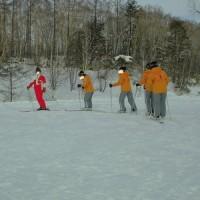 スキー午前2
