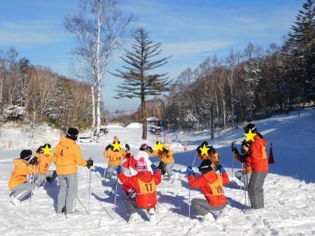 スキー研修②